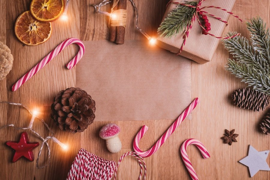 Best buys to make your home smell like Christmas, photo of Christmas candy canes and fir cones