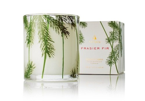 Christmas tree scented candle to make your home smell like Christmas